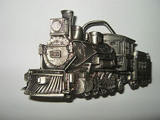 Great Am. Buckle Co. Usa 1981 Vintage Rail Road Belt Buckle by The