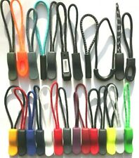 Zip Pull/Zipper Puller For Jacket/Bags/Backpack/Luggage 24 Different Colors Cord