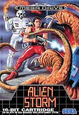 Enmarcado Sega Mega Drive Juego Alien Tormenta Impresión: (Juegos Arcade Clásico Foto)