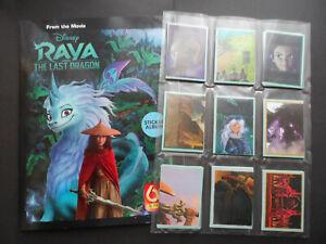 PANINI RAYA & THE LAST DRAGON COMPLETE 180 STICKER SET & 50 CARD SET & ALBUM