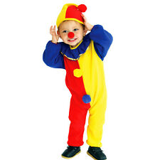 Halloween Cosplay Baby Kids Clown Costume Child Outfit Boy New Fancy Dress Props