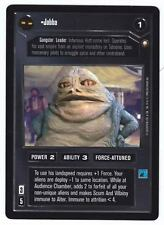 SWCCG Star Wars CCG • Jabba no The Hut Mighty • SPECIAL EDITION • RARE