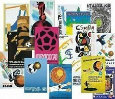 EVERY FIFA World Cup Poster Complete Set 1930-2018 Repros