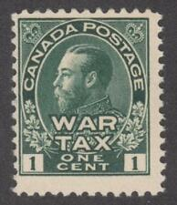 Canada #MR1 George V MNH 1c War Tax 1915 cv $60