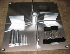 """Aluminum Rocket Fin Alignment Jig 18"""" LPR MPR HPR Estes PML LOC Aerotech Loki"""