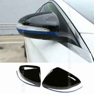 For Benz C E S GLC Class W205 W213 Blue Side Mirror Wing Mirror Rear view Cover