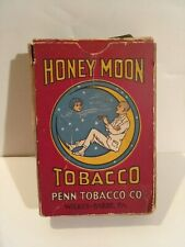 HONEY MOON TOBACCO NOT TIN PACKAGE PENN TOBACCO CO. CIGAR SMOKE