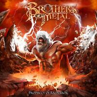 BROTHERS OF METAL - Prophecy Of Ragnarök - CD - 884860240529