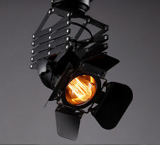 Retro Theater Ceiling Pandent Industrial Edison lamp wall spot light photography