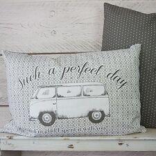 Shabby Chic Vintage VW Camper Van Kissen Such A Perfect Day mit ihnen Kissen
