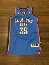 Kevin Durant Oklahoma City Thunder Jersey Adidas Adult Small Swingman Authentic