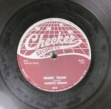 Hear! R&B 78 Daddyo Gibson - Night Train / Behind The Sun On Checker