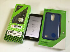 LG Fortune Smartphone Cricket Black Android Phone With FREE Screen Protection.