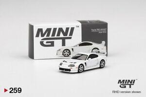 Mini GT 1/64 Toyota Supra 3000GT TRD Alpine Die-cast Vehicle Display Collection