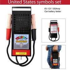 6V-12V Car Van Auto Battery Tester Load Drop Charging System Analyzer Checker US