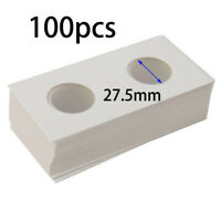 Protection Cardboard Coin Holder Tools Collection Paper Hole Organizer