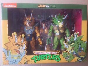 NECA Teenage Mutant Ninja Turtles TMNT ZARAX and ZORK Target Exclusive