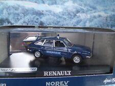 1/43  Norev  RENAULT 30 Gendarmere