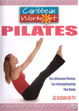 Caribbean Workout - Pilates (DVD, 2005) with Shelly McDonald Exercise Fitness
