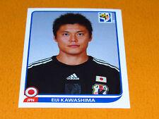 374 KAWASHIMA JAPAN NIPPON JFA PANINI FOOTBALL FIFA WORLD CUP 2010