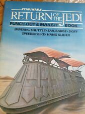 Star Wars Return Of The Jedi Punch-Out Activity Book New Unpunched