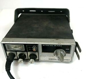 Vintage General Electric CB Radio Model 3-5804D Citizens Band