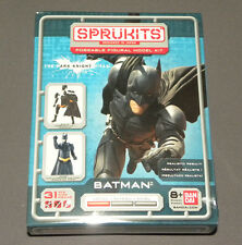 Sprukits The Dark Knight Batman Poseable Figural Model Kit Figure Bandai Level 1