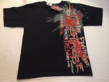 Rare Vtg 1990 Diatribe T Shirt Industrial Rock Band Marburg Retro Music 90S