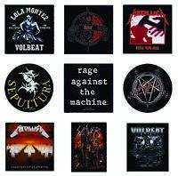 Metal Patch Metallica Rage Against The Machine Sepultura Slayer Slipknot Volbeat
