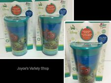 Finding Nemo Spout-less Toddler Sippy Cups LOT OF 2 BPA Free No Spill