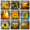 3D Sunshine Sunflowers Duvet Cover Bedding Set Pillow Case Comforter/Quilt Cover
