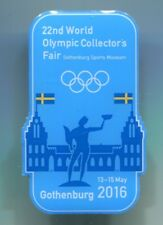 2016 the 22nd world olympic collector's fair Mini Bad Participant Lapel Pin