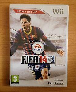 FIFA 14 legacy edition Nintendo Wii PAL