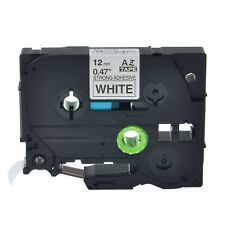 1PK TZeS231 TZS231 TZ S231 Black On White Label Tape For Brother P-Touch 12mm