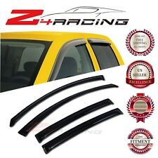 For 07-12 Nissan Altima Sedan Vent Shade Guard Window Visors Deflector Smoke 4PC