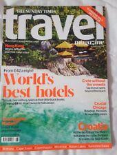 Times Travel magazine. CROATIA. HONG KONG. CRETE. YORKSHIRE DALES. August 2018