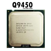 Intel Core 2 Quad Q9450 2.6 GHz Quad-Core CPU Processor 12M 95W 1333 LGA 775 Lot