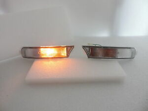 Clear Crystal Front Bumper Flasher Light Lamp Fit Subaru Impreza~GC8~GF8~RX~WRX