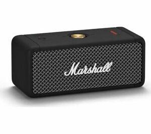 MARSHALL Emberton Portable Wireless Bluetooth Speaker Black - Currys