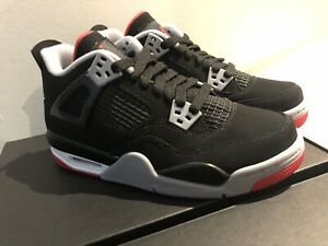 Nike Air Jordan 4 Retro Bred GS 2019