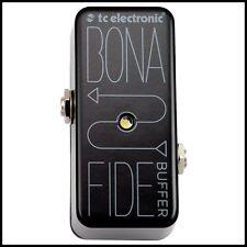 TC Electronic BonaFide Buffer Guitar Effects Pedal compact pedal