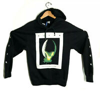 ALIEN Movie Licensed Twentieth Century Fox Ridley Scott Black Hoodie Small S