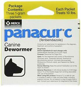 Panacur Canine Dewormer 1 Gram,