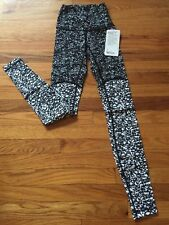 NWT $135 LULULEMON Wunder Under Pant High Rise SE Block Size 2 Luxtreme