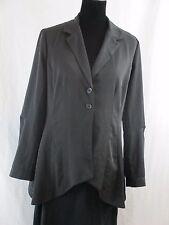 Women's Black Blazer 2 button wardrobe staple Size 1 (8 Medium)       SX1
