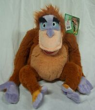 "Disney The Jungle Book King Louie Orangutan 10"" Plush Stuffed Animal Toy New"