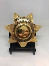 Mervyn's Asset Protection Security Officer Badge New