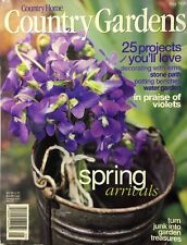 COUNTRY HOME~COUNTRY GARDENS MAGAZINE~MAY 1998~SPRING ARRIVALS~