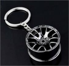 99Car Parts Key Chain Motor Hub Valve Piston Engine Rotate Keyring