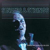 """FRANK SINATRA """"SINATRA & STRINGS"""" CD NEW"""